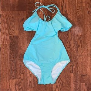 Victoria's secret teal one-piece swimsuit